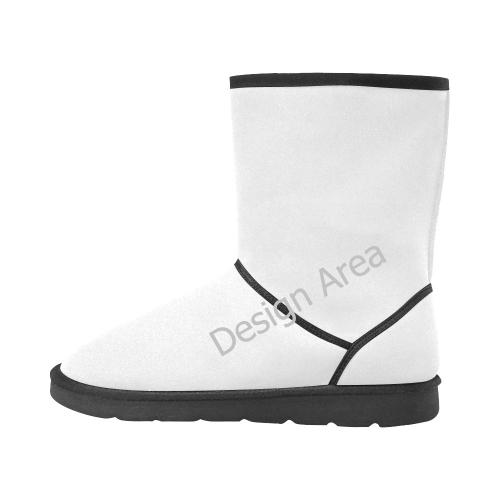 Custom High Top Unisex Snow Boots (Model 047)