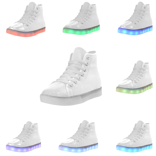 Custom Light Up Kid's Shoes (Model 045)