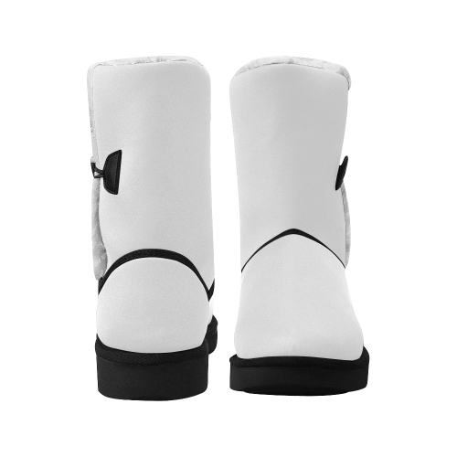 Unisex Single Button Snow Boots (Model 051)