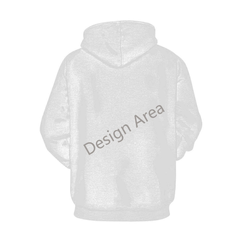 All Over Print Hoodie for Men/Large Size (USA Size) (Model H13)