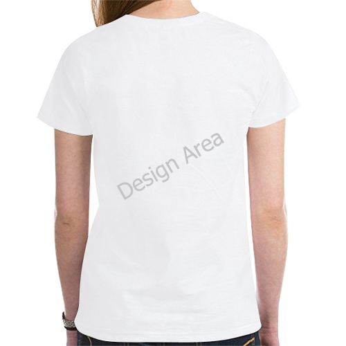 New All Over Print T-shirt for Women (Model T45)