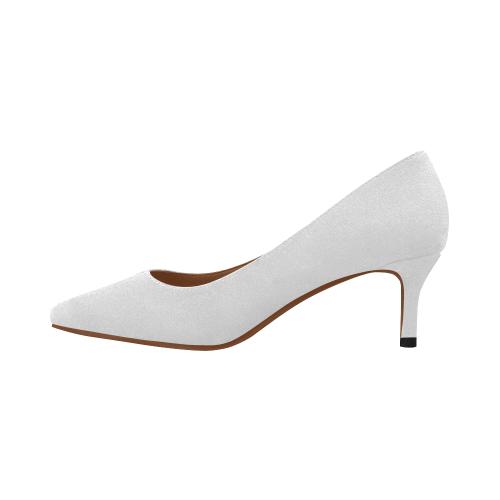 Women's Pointed Toe Low Heel Pumps (Model 053)