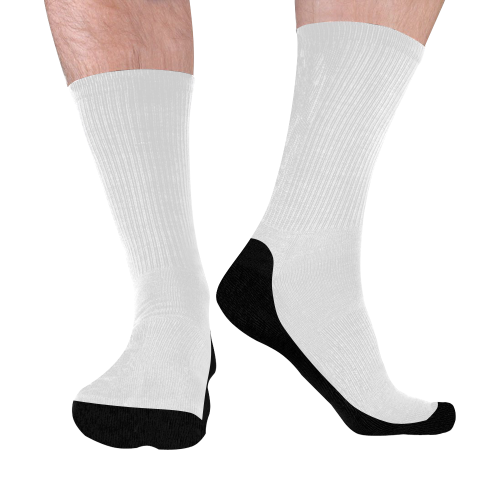 Mid-Calf Socks (Black Sole)