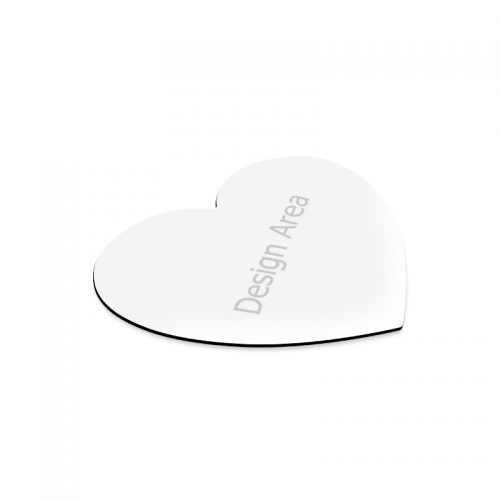 Heart-shaped Mousepad