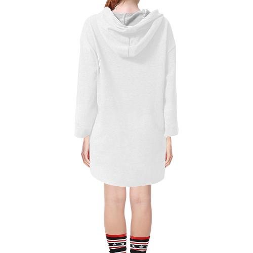 Step Hem Tunic Hoodie for Women (Model H25)