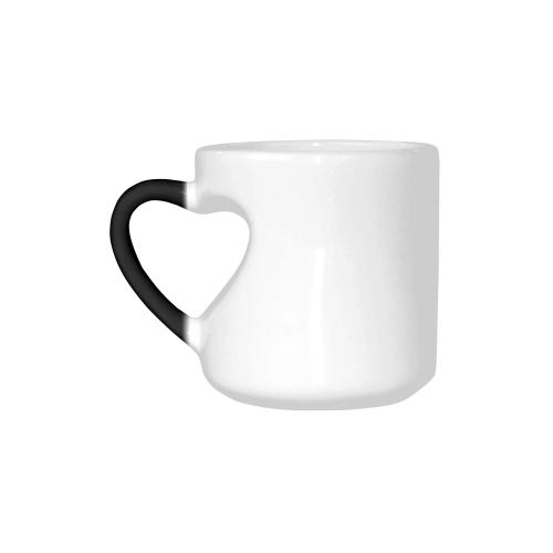 Heart-shaped Morphing Mug