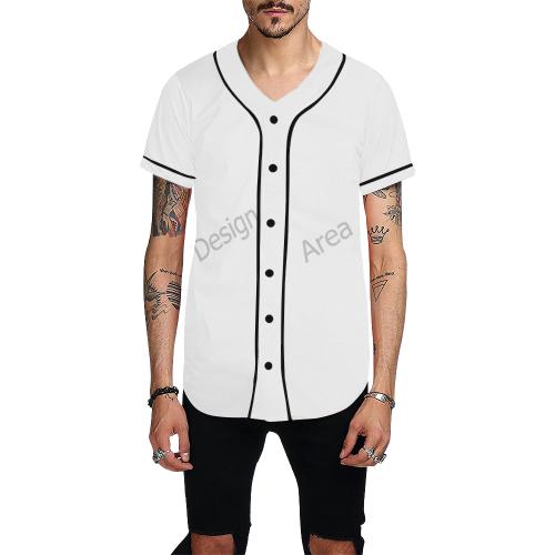 All Over Print Baseball Jersey for Men (Model T50)