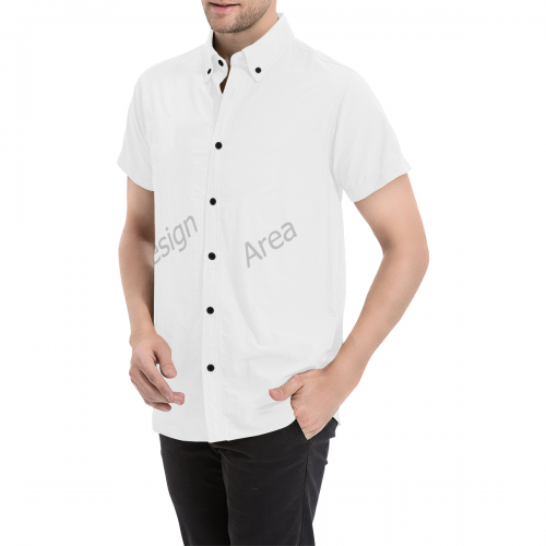 Men's All Over Print Short Sleeve Shirt (Model T53)