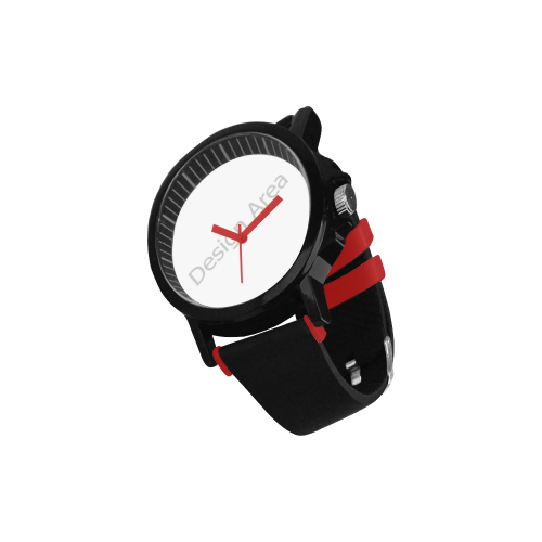 Unisex Silicone Strap Plastic Watch (Model 316)