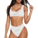 Sport Top & High-Waisted Bikini Swimsuit (Model S07)