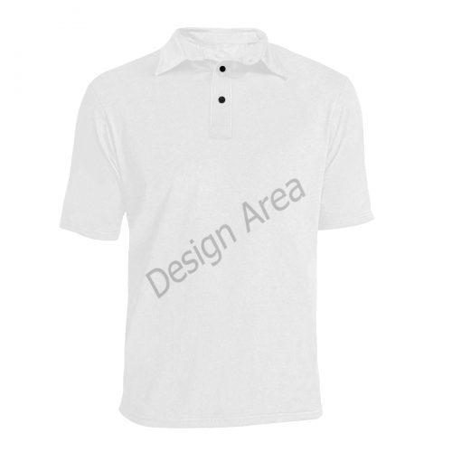 Men's All Over Print Polo Shirt (Model T55)