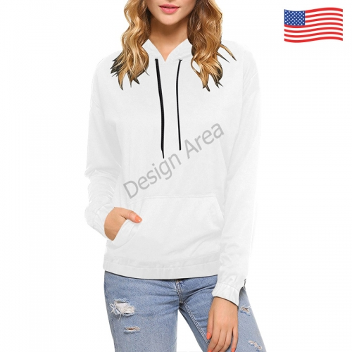 All Over Print Hoodie (for Women)