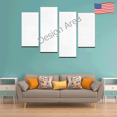 Canvas Wall Art Y (4 pieces)