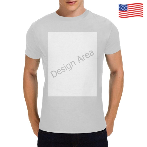 Men's Heavy Cotton T-Shirt (One Side Printing)