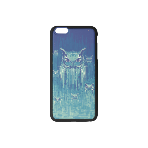Blue Owls Rubber Case for iPhone 6/6s Plus