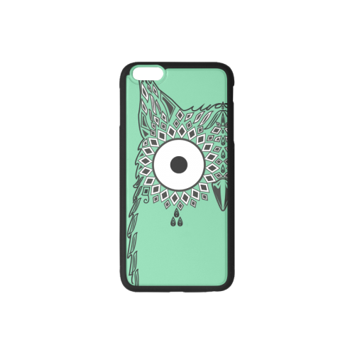 Abstract Cute Owl Eye Rubber Case for iPhone 6/6s Plus