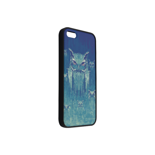 Blue Owls Rubber Case for iPhone 5/5s