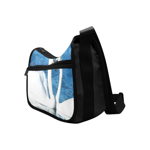 Swans ' Love Crossbody Bags (Model 1616)