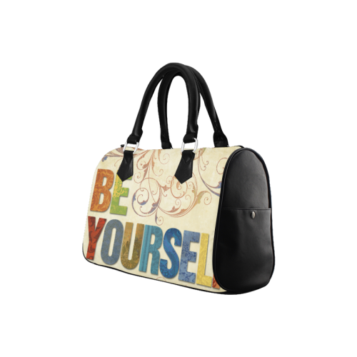 Be Yourself Pictures Boston Handbag (Model 1621)
