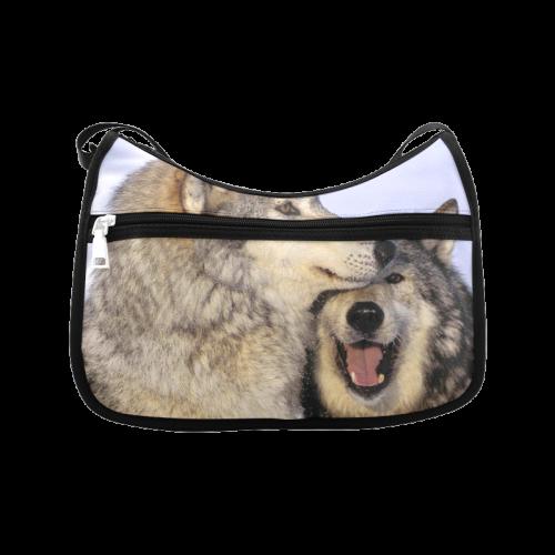 Wolves ' Love Crossbody Bags (Model 1616)