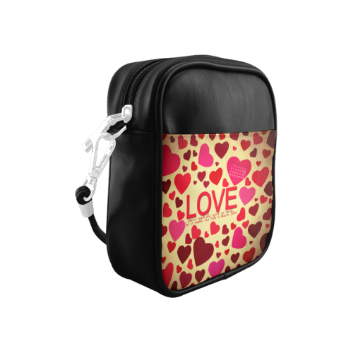 Love Elegant Pattern Sling Bag (Model 1627)