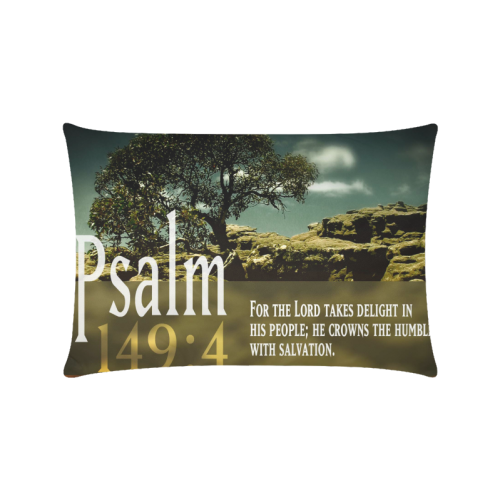 "Bible Quotes Custom Zippered Pillow Cases 16""x24""(Twin Sides)"
