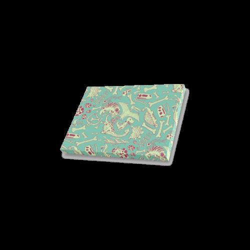 "Dinosaurs Pattern Canvas Print 7""x5"""