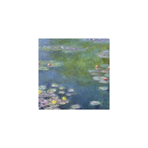 "Claude Monet Canvas Print 6""x6"""