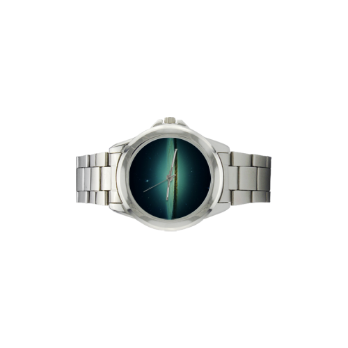 Awesome Galaxy Unisex Stainless Steel Watch(Model 103)