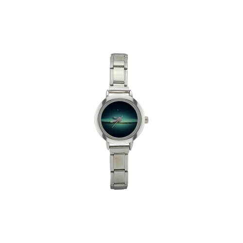 Awesome Galaxy Women's Italian Charm Watch(Model 107)