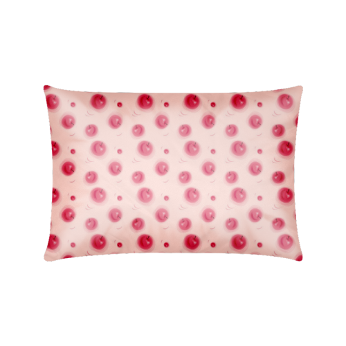 "Apple Spots Custom Zippered Pillow Cases 16""x24""(Twin Sides)"
