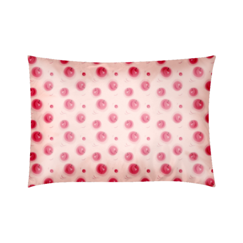 "Apple Spots Custom Zippered Pillow Cases 20""x30""(Twin Sides)"