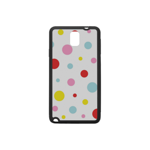 Color Spots Rubber Case for Samsung Galaxy Note 3
