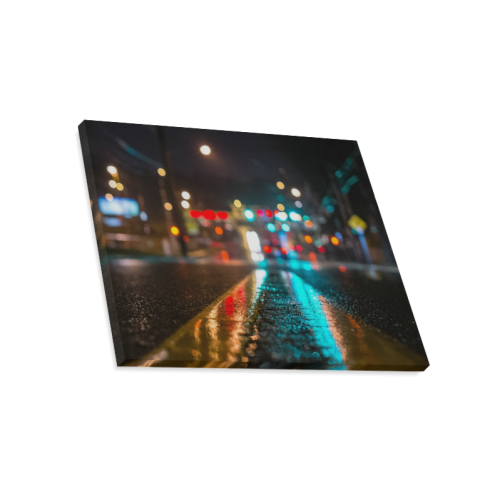 "City Beautiful Road Canvas Print 20""x16"""