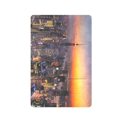 "New York City Night Doormat 24"" x 16"""