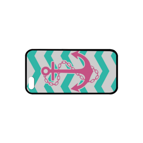 Anchor Chevron Rubber Case for iPhone 5/5s