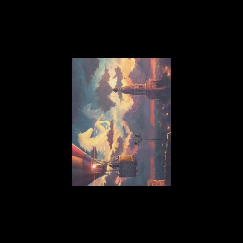 """Fire Balloon Adventure Poster 11""""x8.5"""""""