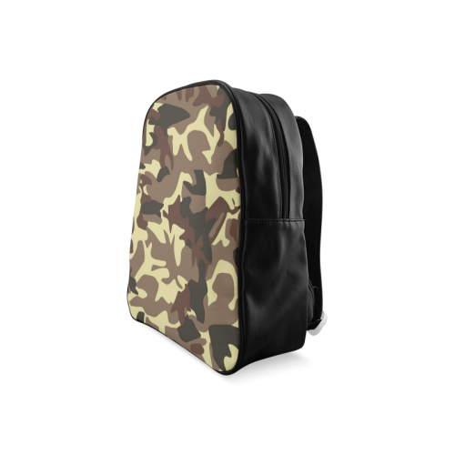 Army Camouflage School Backpack/Large (Model 1601)