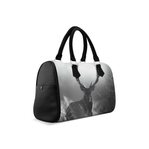 Winter Reindeer Boston Handbag (Model 1621)