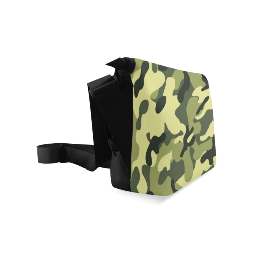 Forest Camouflage Crossbody Bag (Model 1631)