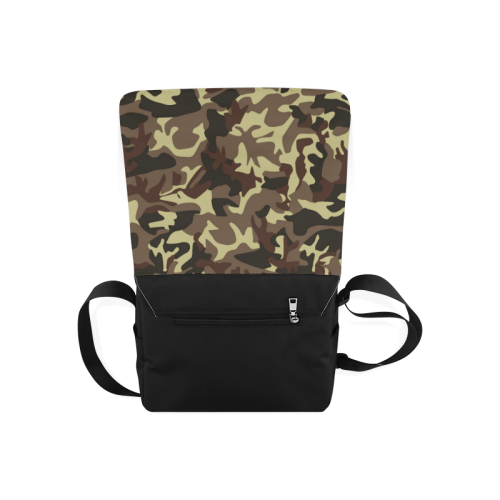 Army Camouflage Messenger Bag (Model 1628)