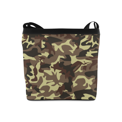 Army Camouflage Crossbody Bags (Model 1613)