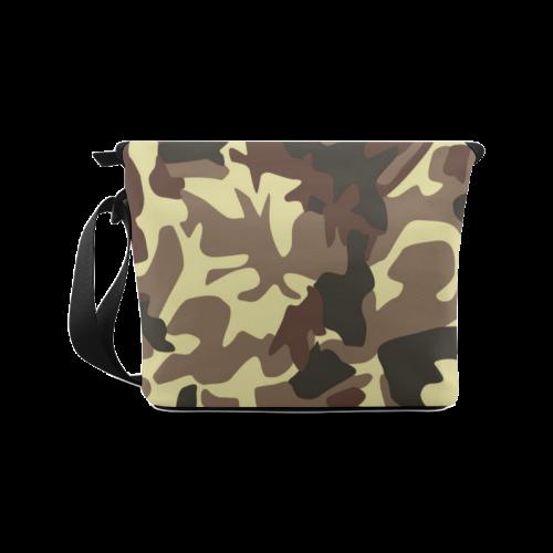 Army Camouflage Crossbody Bag/Large (Model 1631)