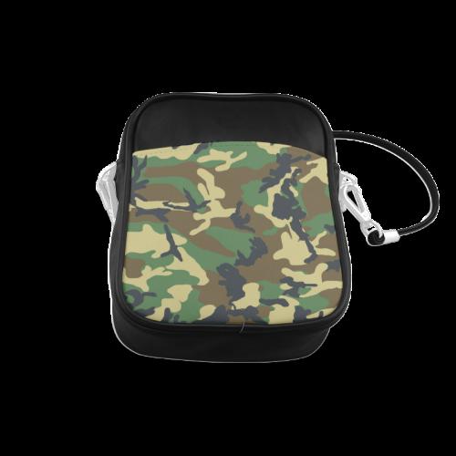 Dark Camouflage Sling Bag (Model 1627)