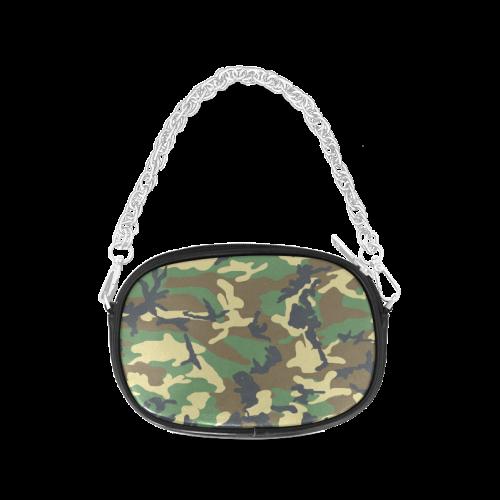 Dark Camouflage Chain Purse (Model 1626)
