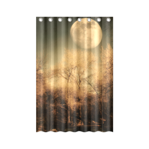 "Full Moon Shower Curtain 48""x72"""