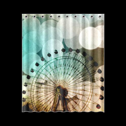 """At The Fair Shower Curtain 60""""x72"""""""