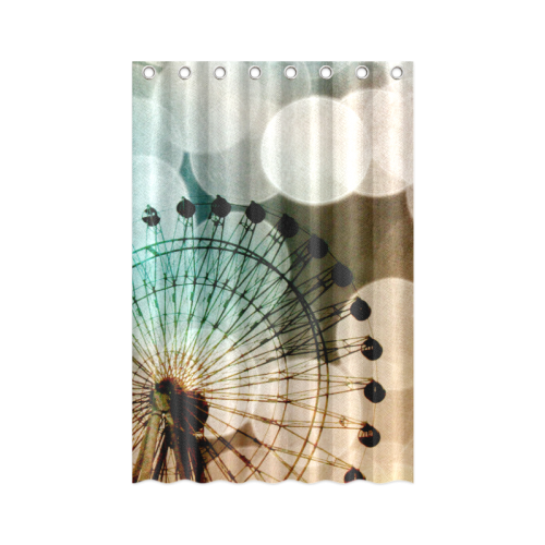 "At The Fair Shower Curtain 48""x72"""