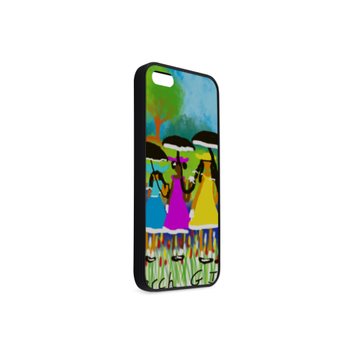 Sunday Best Doodle Babies Rubber Case for iPhone 5/5s