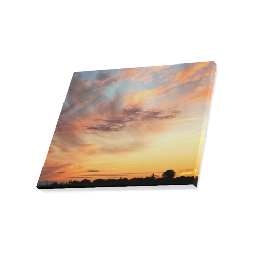 "Beautiful Dutch Sky large Canvas Print 20""x16"""